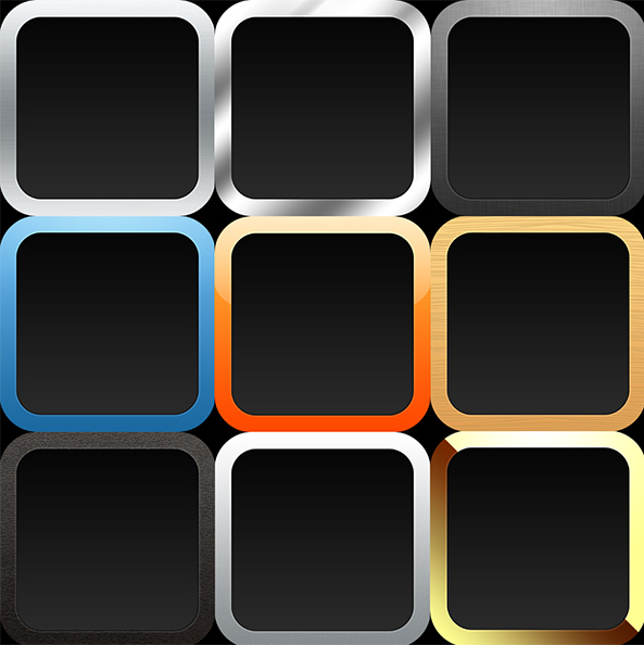 iOS app icon template – John Stejskal : Software and Game Developer