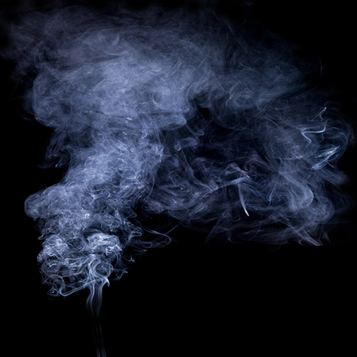 Photoshop how smoke make in to