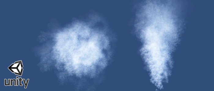 How to create realistic smoke in Unity